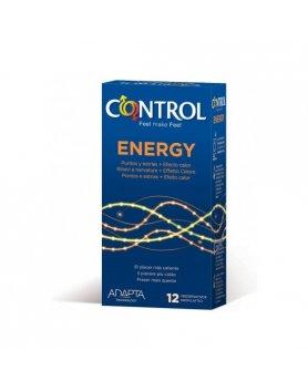 PRESERVATIVOS CONTROL ENERGY 12UDS VIBRASHOP