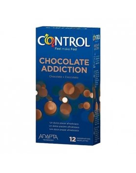 PRESERVATIVOS CONTROL CHOCOLATE ADDICTION 12UDS VIBRASHOP