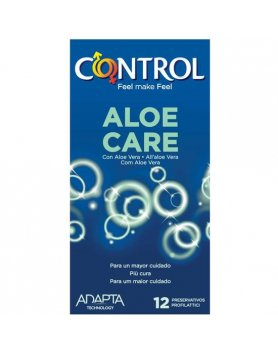 PRESERVATIVOS CONTROL NATURE ALOE CARE 12UDS VIBRASHOP