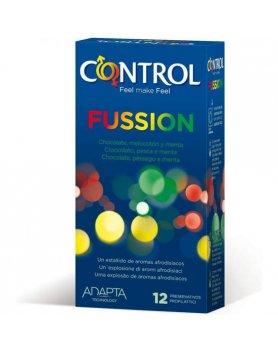 PRESERVATIVOS CONTROL FUSSION 12UDS VIBRASHOP
