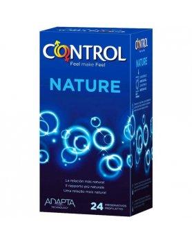 PRESERVATIVOS CONTROL NATURE 24 UDS VIBRASHOP