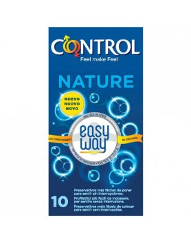 PRESERVATIVOS CONTROL NATURE EASY WAY SOLUTION 10UDS VIBRASHOP