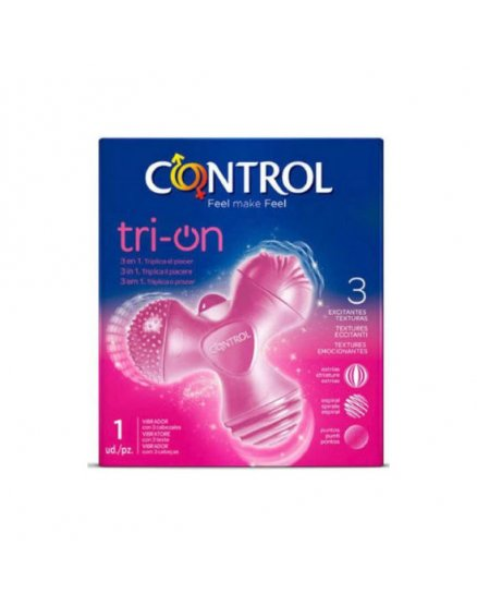 Estimulador De Clítoris Control Toys Tri-on Rosado Vibrashop
