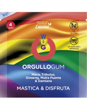 WUG LIFE NIGHT ORGULLO GUM 4 UDS VIBRASHOP