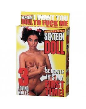 SWEET LITTLE SEXTEEN DOLL VIBRASHOP