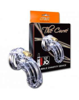 CB-X THE CURVE DISPOSITIVO CASTIDAD TRANSPARENTE VIBRASHOP