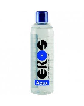 EROS AQUA WATER BASED LUBRICANT FLASCHE 250 ML VIBRASHOP