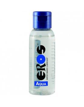 EROS AQUA WATER BASED LUBRICANT FLASCHE 50 ML VIBRASHOP