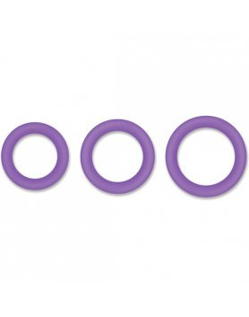 HALO 50MM KIT DE ANILLOS - MORADO VIBRASHOP