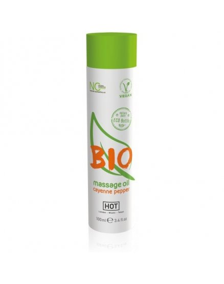 HOT BIO ACEITE DE MASAJE CANELA 100ML VIBRASHOP