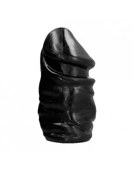 ALL BLACK PENE ANAL 33CM VIBRASHOP