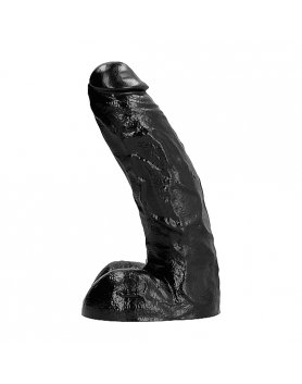 ALL BLACK PENE REALÍSTICO 25,5CM VIBRASHOP
