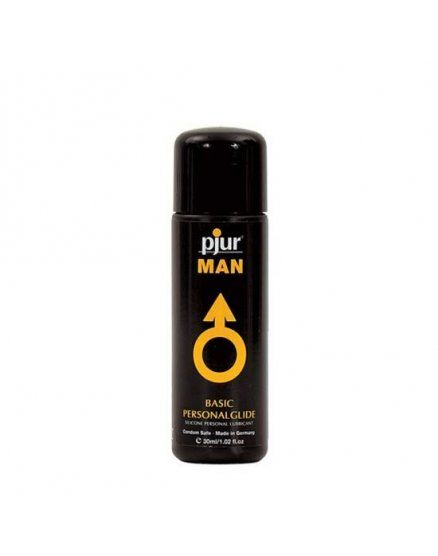 pjur man basic lubricante personal silicona 30 ml VIBRASHOP