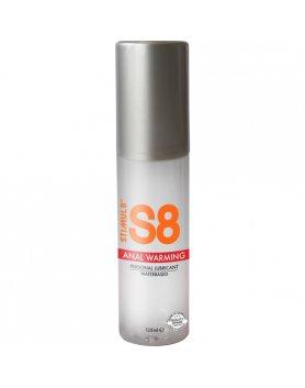 S8 LUBRICANTE ANAL BASE DE AGUA EFECTO CALOR 125ML VIBRASHOP