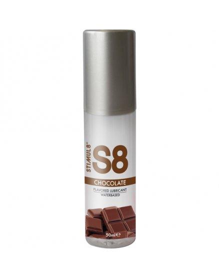 S8 LUBRICANTE SABORES 50ML - CHOCOLATE VIBRASHOP