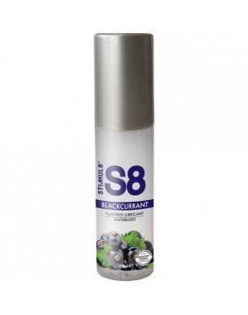 S8 LUBRICANTE SABORES 125ML - GROSELLA NEGRA VIBRASHOP