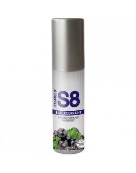 S8 LUBRICANTE SABORES 50ML - GROSELLA NEGRA VIBRASHOP