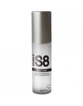S8 LUBRICANTE SILICONA PREMIUM 50ML VIBRASHOP