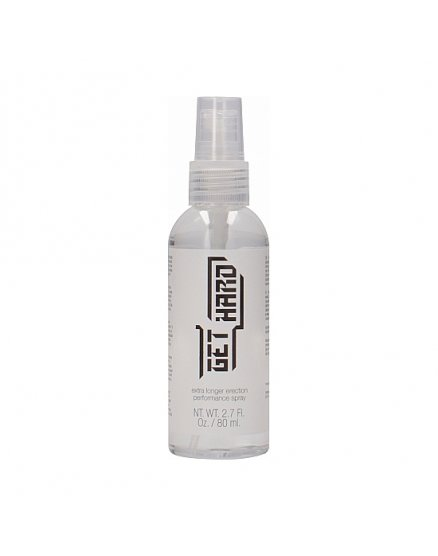 GET HARD - SPRAY PARA LA ERECCIÓN 80ML VIBRASHOP