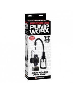 DESARROLLADOR DE PENE PUMP WORX - DELUXE VIBRATING POWER PUMP