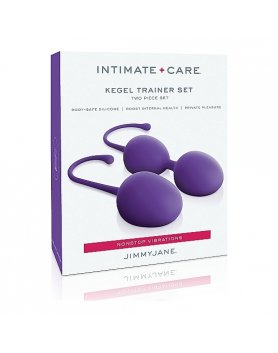 INTIMATE CARE SET DE ENTREMANIENTO KEGEL - MORADO VIBRASHOP