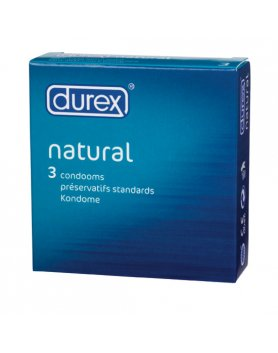DUREX NATURAL 3 UDS. VIBRASHOP