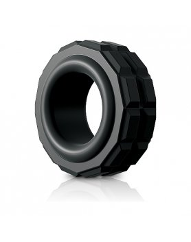 CONTROL HIGH PERFORMANCE ANILLO SILICONA - NEGRO VIBRASHOP