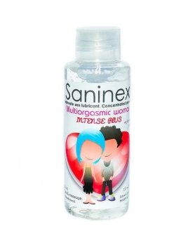 SANINEX MULTIORGASMIC WOMAN INTENSE PLUS 100ML VIBRASHOP