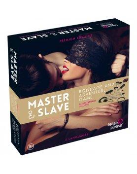 MASTER SLAVE KIT BDSM PARA PAREJAS BEIGE VIBRASHOP