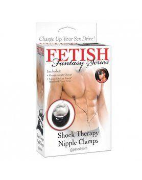 fetish fantasy shock therapy pinzas para pezones