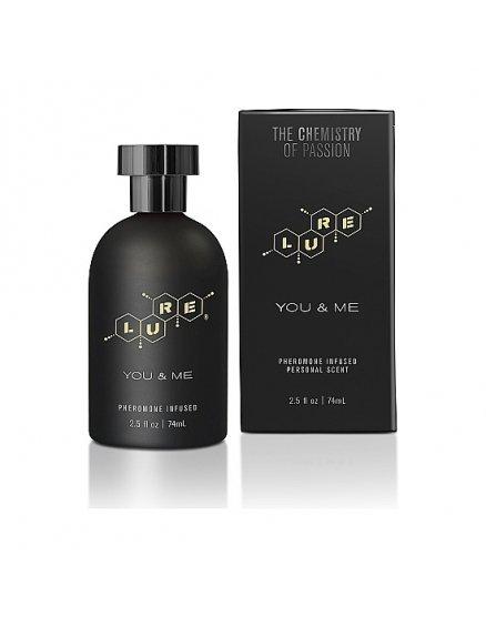 LURE BLACK LABEL FOR YOU & ME PERFUME FEROMONAS UNISEX 74ML VIBRASHOP