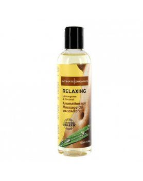 intimate organics relaxing aceite de masaje aromaterapico VIBRASHOP