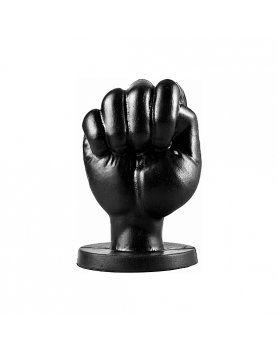 ALL BLACK FIST 13CM - NEGRO VIBRASHOP