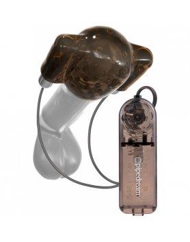 CLASSIX DUAL VIBRADOR HEAD TEASER (NEGRO/GRIS) VIBRASHOP