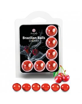 SET 6 BRAZILIAN BALLS CEREZA VIBRASHOP