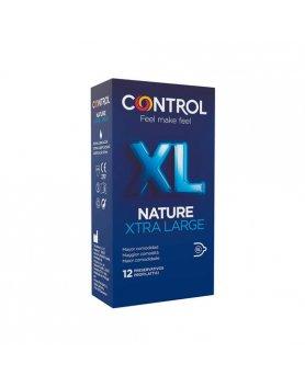 CONTROL PRESERVATIVOS NATURE XL 12UDS VIBRASHOP