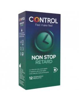 CONTROL PRESERVATIVOS NON STOP RETARD 12UDS VIBRASHOP