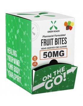 FRUIT BITES - SNAKS - DISPLAY OF 30 PIECES VIBRASHOP