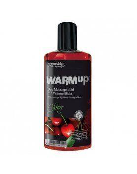 aceite de masaje efecto calor cereza VIBRASHOP