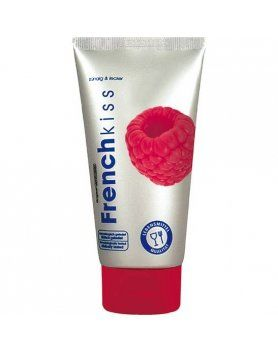 french kiss gel para sexo oral frambuesa VIBRASHOP