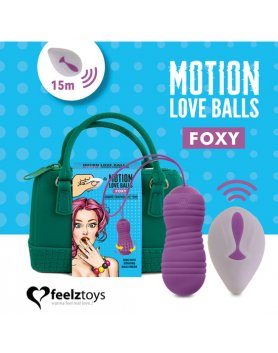FEELZTOYS - MOTION LOVE BALLS FOXY VIBRASHOP