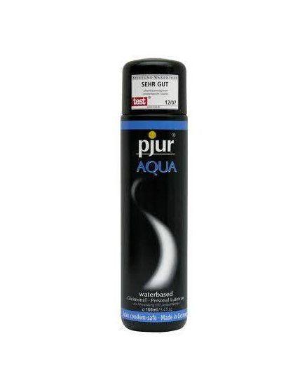pjur aqua lubricante base agua 100 ml VIBRASHOP