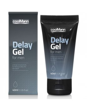 COOLMANN GEL RETARDANTE 40ML VIBRASHOP