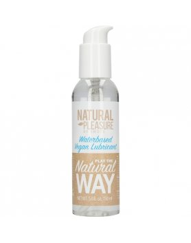 NATURAL PLEASURE - LUBRICANTE VEGANO A BASE DE AGUA- 150 ML VIBRASHOP