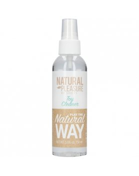 NATURAL PLEASURE - LIMPIADOR DE JUGUETES - 150 ML VIBRASHOP
