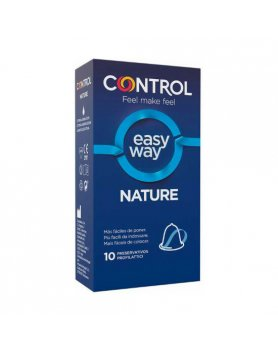 CONTROL PRESERVATIVOS NEW NATURE EASY WAY - 10UDS VIBRASHOP