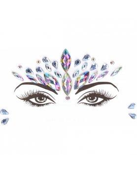 LE DESIR ADHESIVOS BRILLANTES DAZZLING CROWNED FACE BLING VIBRASHOP