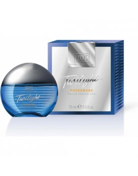 HOT TWILIGHT PERFUME CON FEROMONAS PARA ÉL 15ML VIBRASHOP