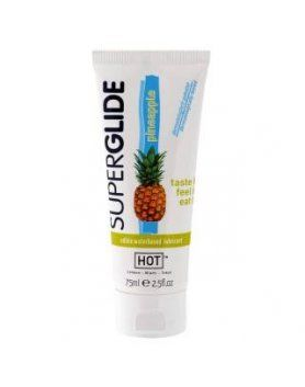 hot superglide lubricante comestible piña VIBRASHOP