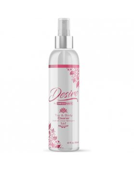 SWISS NAVY DESIRE LIMPIADOR TOY & BODY 89ML VIBRASHOP